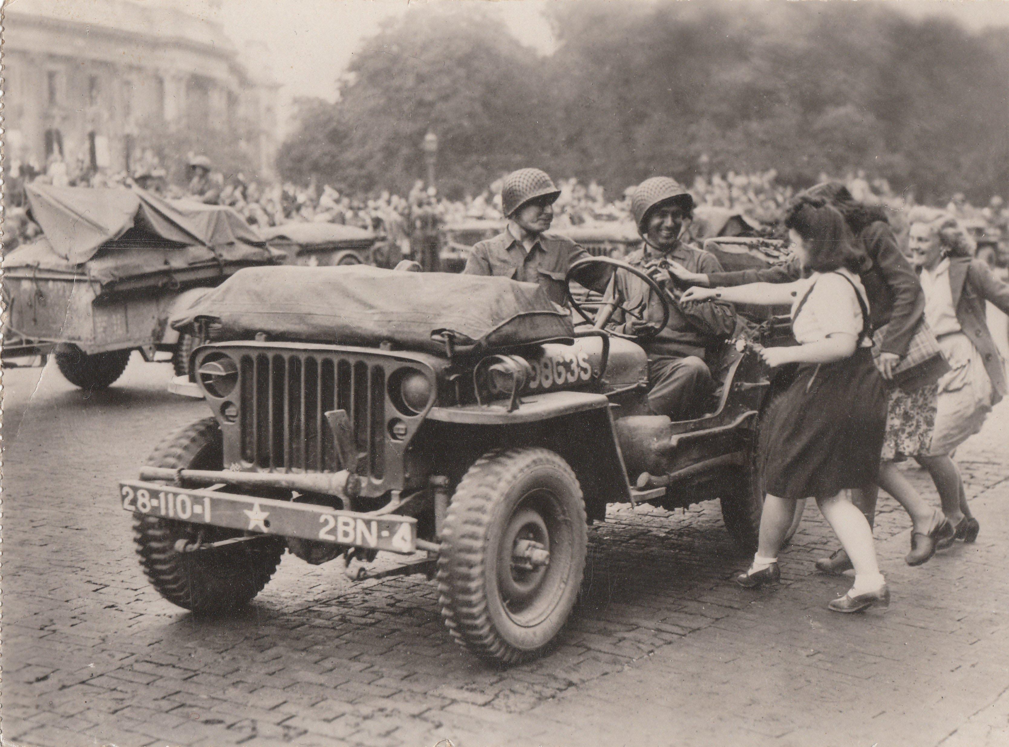 Jeep lors de la libération