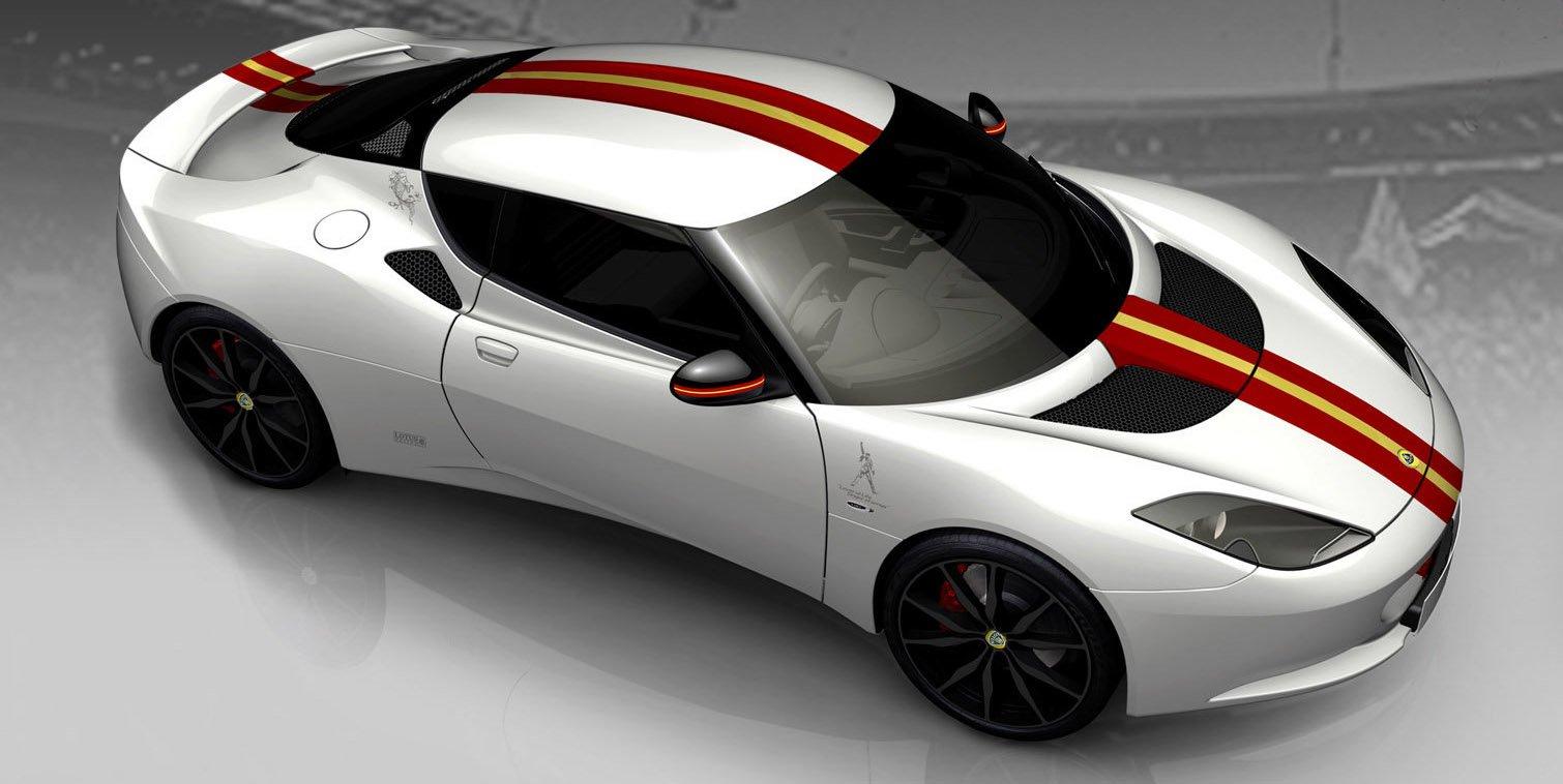 Lotus Evora S Freddie Mercury profil