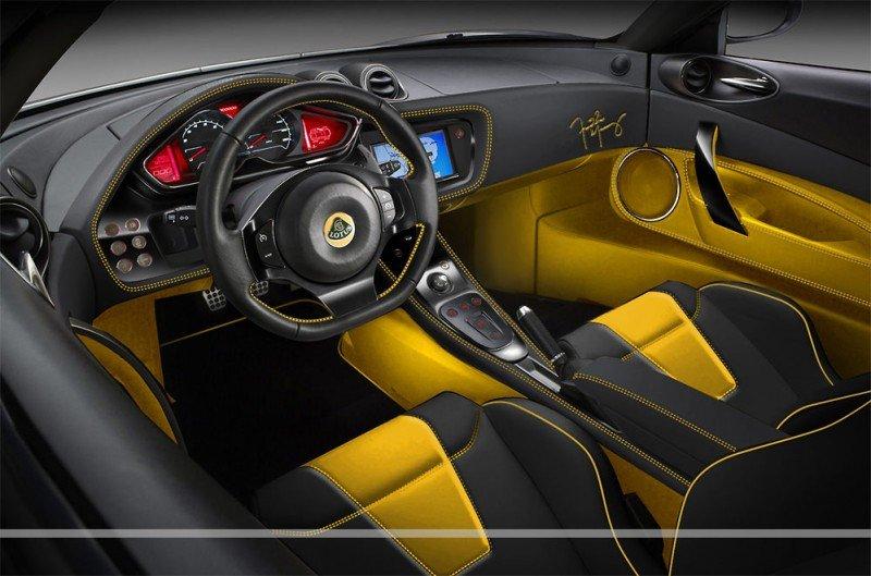 Lotus Evora S Freddie Mercury habitacle